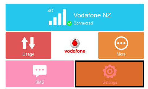 Change your Pocket Wi-Fi password - Vodafone NZ